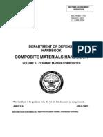 Dod-cmh-Volume 5. Ceramic Matrix Composites