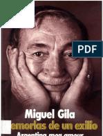 33747815 Miguel Gila Memorias de Un Exilio