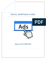 Indian Digital Marketing Spends by Industry