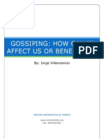 13 - Gossiping - How Can It Affect Us or Benefit Us