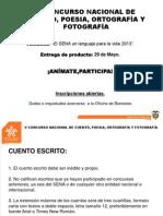 V Concurso Nacional C,P,O y F.