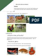 Binatang Halal Haram