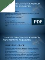 Crack & Honeycomb Repair Method