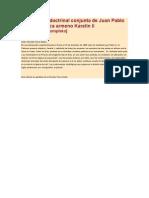 Declaración conjunta de Juan Pablo II y el patriarca armenio Karelin II
