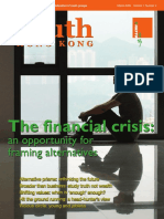 Volume 1 Number 2 The financial crisis