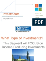 2009 Kootenai County Market Forum Investments Slides