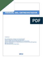 Manual Del Entrevistador