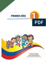 Primer Año texto para niños de primaria