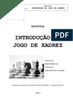 Apostila Introdução ao Jogo de Xadrez - IFFarroupilha (Prof Msc Roberto Basílio Leal)