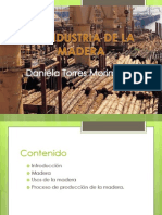 La Industria de La Madera