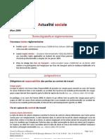 Lettre d'Information Groupe Finaxim Mars 2009