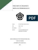 Laporan Rencana Praktikum Md1