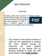 Indian Society-Historical Evolution.pptx