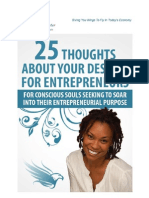 25 Thought About Your Destiny for Entrepreneurs