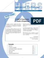Guide Programmation Chambre Dhopital APHP