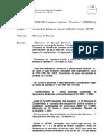 TCDF admissão de pessoal bom