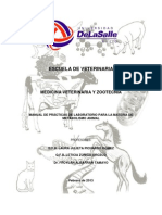 Manual de Practicas de Metabolismo Animal