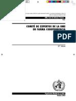 Informe 33 OMS