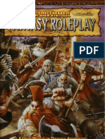 Warhammer FRP Rulebook Second Edition