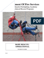 303 Rope Rescue Operational Level