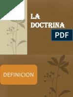 Diapositiva de La Doctrina
