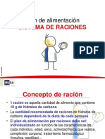 Plan Alimentacion Diabetes Raciones