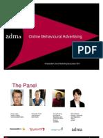 OBA ADMA Forum Panel Compatibi