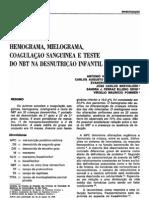 hemograma;mielograma