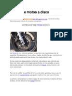 Frenos de Motos a Disco