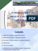 Origen e Higiene de La Seguridad Industrial