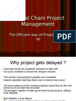 Project Monitoring  by Buffer Management of the critical chain