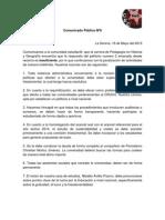 138185880-Comunicado-Publico-Nº6-2013