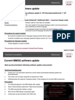 MMI3G Software Update 22 Presentation Part Two