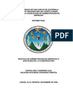 Informe Practica Administracion Empresas IV