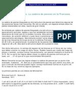 25 Estructura Francesa