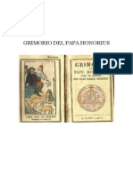 Grimorio Del Papa Honorius