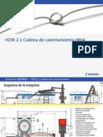2 ES03200 HZM21 Heating Chain 0904 ES Cadena Del Horno Nuevo