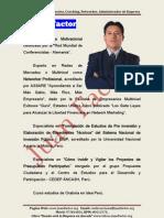 Perfil Profesional Del Conferencista Juan Factor