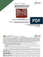 Liceo Actividades de Educac Intercultural 2012-2013 I II III Liceos