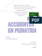 Accidentes en Pediatria Josean