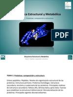 Tema 3. Proteinas. Composicion y Estructura
