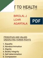 Right to Health, Krita