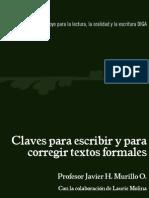 Claves Para Escribir Textos Formales