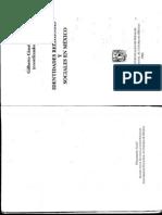 Giménez, B. Identidades Religiosas en Maexico