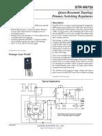 STR W6735 Datasheet