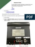 Impresoras Fiscales Samsung - Aclas