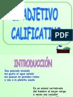 Adjetivo Calificativo u