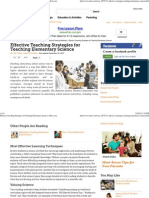 Effective Teaching Strategies for Teaching Elementary Science _ eHow2