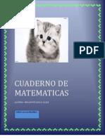 Cuaderno de Matematicas