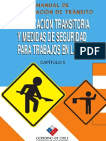 MANUAL DE SEÑALETICA TRANSITORIA EN TRABAJOS VIALES